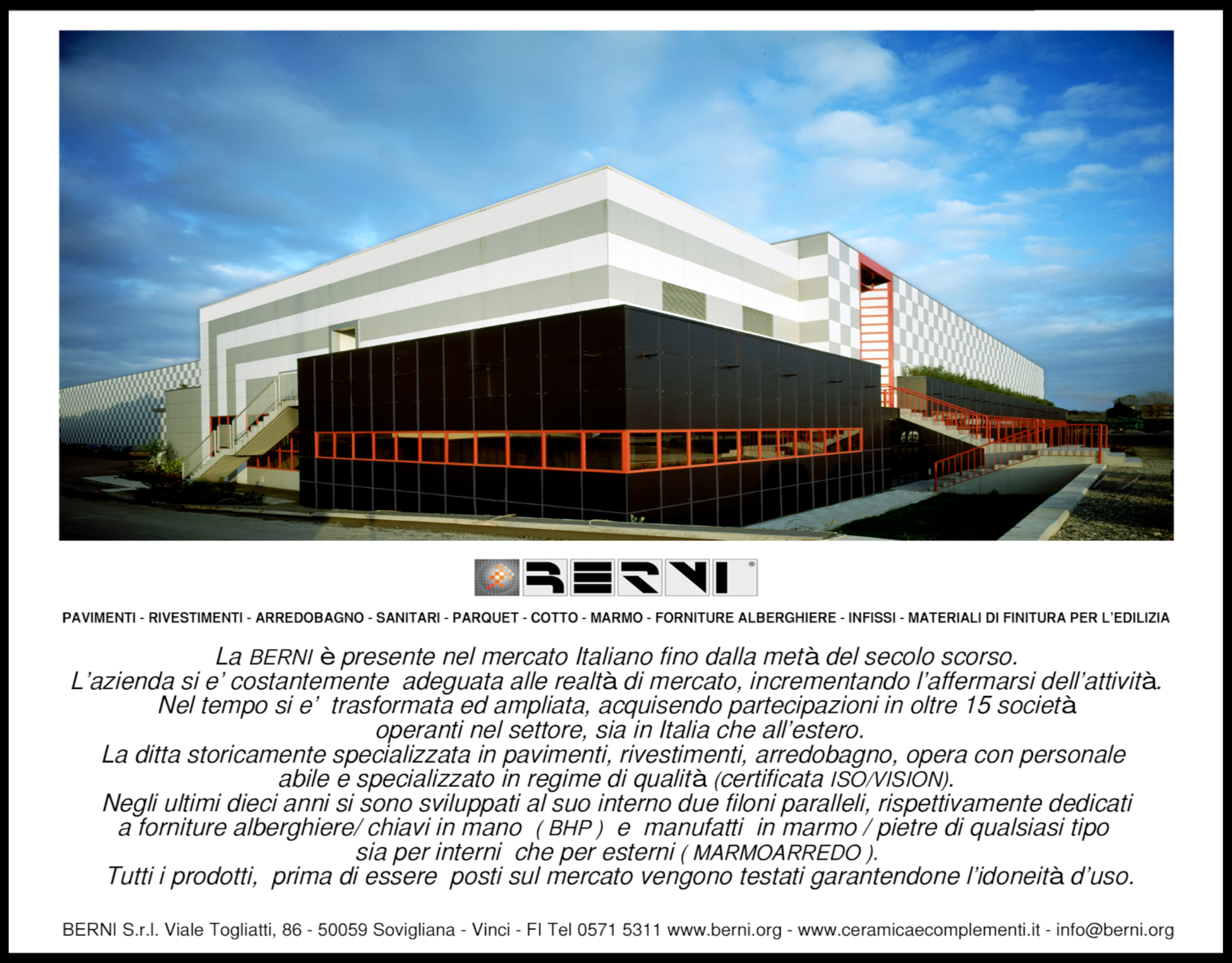 sponsor | firenze ovest - Berni Arredo Bagno Firenze